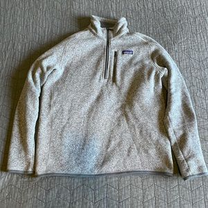Patagonia 1/4 Zip Better Sweater
